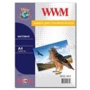 Фотобумага WWM, матовая 100g, m2, A4, 100л (M100.100)