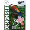 Дизайнерская фотобумага Мagic А4, двухсторонняя   Белый Перламутр  250 г /м²,50л,50л