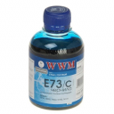 Чорнила wwm Epson Stylus CX3700, T26, TX106, SX125 (Cyan) E73/C, 200г