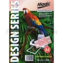 Дизайнерская фотобумага Мagic А4, двухсторонняя Розовый Перламутр  250 г /м²,50л