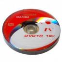 Диски  DVD+R 4.7Gb 16x bulk 10шт