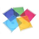 Бокс Slim цветной (микс 5 цветов) 50 шт/уп