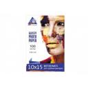 Фотобумага Inksystem глянцевая 230g, 10х15, 100 листов. (Код 6108)