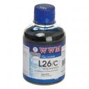 Чернила wwm LEXMARK 10N0026, 10N0227 (Cyan) L26/C, 200г