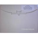 Пленка для цветных струйных принтеров 135 мкм, А4, 50л. Код 71351220-50