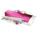 Ламинатор Leitz iLAM Home Office A4, розовый металлик