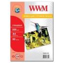 Фотобумага WWM, глянцевая 200g, m2, А4, 50л (G200.50)