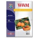Фотобумага WWM, матовая 100 g, m2, А3, 50л (M100.A3.50)