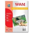 Фотопапір WWM, глянцевий 225g, m2, A4, 100л (G225.100)