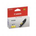 Картридж Canon CLI-451 YYellow (Желтый) (6526B001)