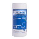 Салфетки для оргтехники 100 штук JOBMAX BM.0802