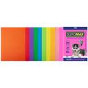 Набір кольорового паперу DARK + INTENSIVE, 10 кол, 50 л, А4, 80 г / м² (BM.2721850-99)