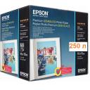 Бумага EPSON фото напівглянцева Premium Semiglossy Photo Paper, 251g, 10х15см, 250л (C13S042200)