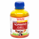 Чорнила wwm  Canon Yellow, C41/Y, 200 г