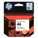 Картридж струйный HP 46 Color (CZ638AE)