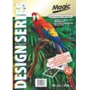Дизайнерская фотобумага Мagic А3, двухсторонняя Платиновый Перламутр  250 г /м²,50л