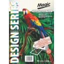 Дизайнерская фотобумага Мagic А3, двухсторонняя Снежный  Перламутр ( ткань)  250 г /м²,50л