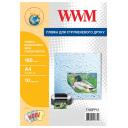 Пленка белая самоклеящаяся водостойкая 180мкм, A4, 10л WWM (F180PP10)