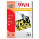 Фотопапір WWM, глянцевий 200g, m2, 130х180 мм, 100л (G200.P100) без політурки