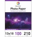 Глянцевая фотобумага 13x18, 210г, 100 листов, Galaxy (GAL-5RHG210-100)