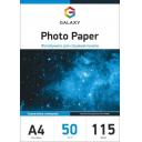 Самоклеющаяся глянцевая фотобумага Galaxy А4, 115g, 50л (GAL-A4SAMHG115-50)