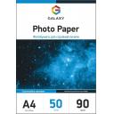 Самоклеючийся матовий фотопапір Galaxy А4, 90g, 50л (GAL-A4SAMMC90-50)