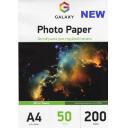 Глянцевая фотобумага А4, 200г, 50 листов, Ultra Galaxy (GAL-A4UHG200-50)
