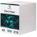 Матовая фотобумага А5, 210г, 500 листов, Galaxy (GAL-A5MC210-500)