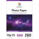 Глянцевая фотобумага 10x15, 260г, 500 листов, Galaxy