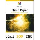 Фотобумага суперглянцевая Galaxy 10x15 260g, 100 листов (GAL-A6PPH260-100)