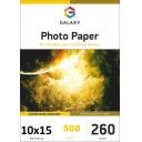 Фотобумага суперглянцевая Galaxy 10x15 260g, 500 листов