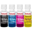 Чорнила WWM GT53 для HP аналог 4х100г BP, C, M, Y (GT53SET)