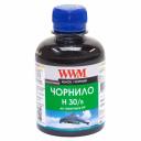 Чорнила WWM H30 для картриджів HP, 200г Black водорозчинні (H30/B)