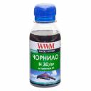 Чорнила wwm HP H30/BP, пігментні, Black, 100г
