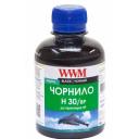 Чорнила wwm HP H30/BP, пігментні, Black, 200г