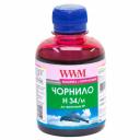 Чернила WWM H34 для картриджей HP, 200г Magenta водорастворимые (H34/M)