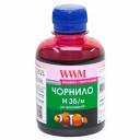Чернила WWM H35 для HP, Magenta Водорастворимые (H35/M) для СНПЧ