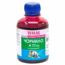 Чернила wwm  HP C8719, С8721, С5016 (Magenta) H77/M, 200г