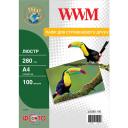 Фотобумага Luster WWM полуглянцевая 280г/м кв, A4, 100л (LU280.100)
