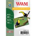 Фотобумага Luster WWM полуглянцевая 280г/м кв, 10х15см, 100л (LU280.F100)