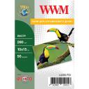Фотобумага Luster WWM полуглянцевая 280г/м кв, 10x15, 50л (LU280.F50)