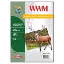 Фотобумага WWM, шелковисто глянцевая 260g, m2, A3, 20л (SG260.A3.20)