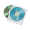 Конверт пластиковий на 2 CD с перфораціею (100шт)