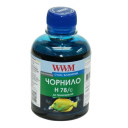 Чернила wwm HP178, HP655 (Cyan) H78/C, 200г