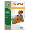 Фотобумага WWM, шелковисто матовая 260g, m2, A4, 50л (SM260.50)