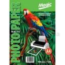 Фотобумага Мagic A4 матовая 128г/м, 100лис