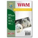 Фотобумага WWM, премиум суперглянцевая 280g, m2, 100х150 мм, 100л (PSG280.F100)