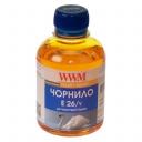 Чернила WWM Epson XP-600, XP-605, XP-700, XP-800, 200г (Yellow) E26/Y