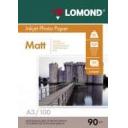 Фотобумага Lomond матовая 90 г/м, А3 100лис. Код 0102011