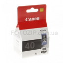 Картридж Canon Pixma iP-1600/2200/MP-150/170/450 (Black) PG-40
